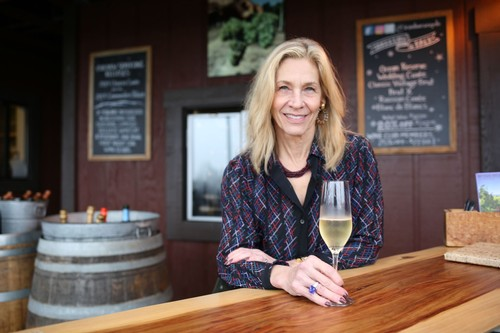 Joy Sterling of CEO of Iron Horse Vineyards